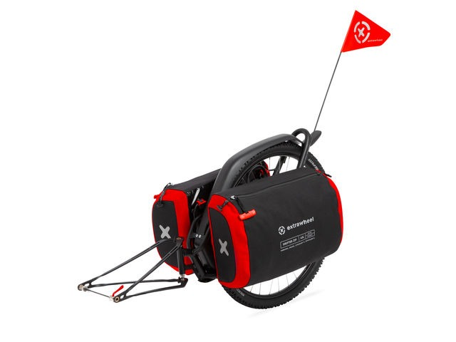 "EXTRAWHEEL Brave 26"" Drifter ZIP Bags 90L click to zoom image"