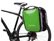 CROSSO Dry 60L Rear (Pair) KlickFix  Light Green  click to zoom image
